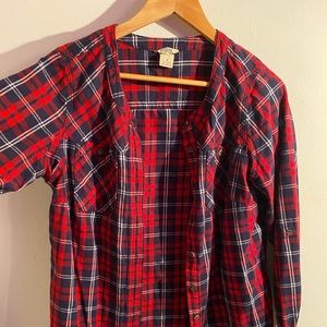 Duluth Women's Red Flannel- Worn once